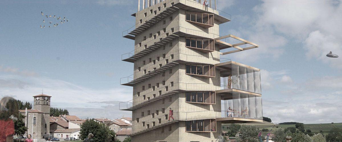 La tour commune • Atelier 43